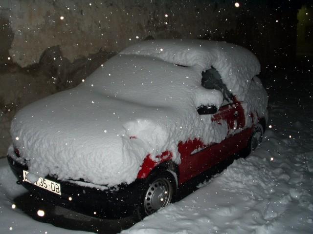 Nevada a Benillup 16 febrer 2003