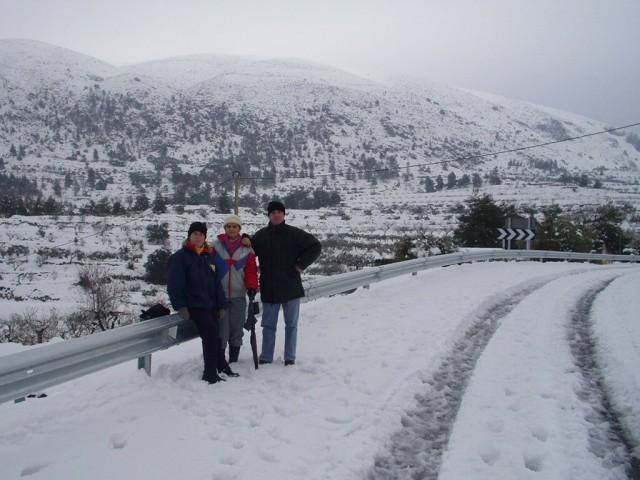 Nevada a Benillup 17 febrer 2003
