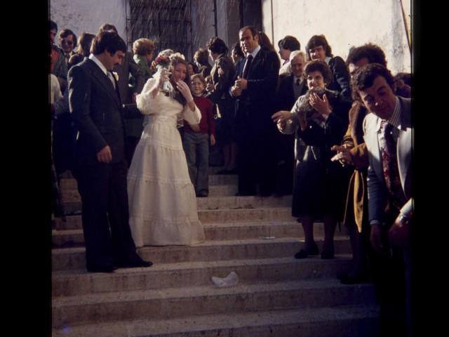 1976 Boda Rosa Pilar i Julio