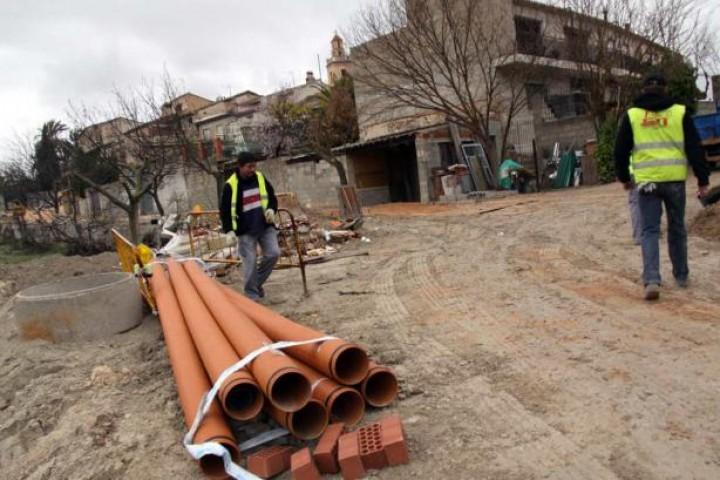 2011.02.16. Información: Benillup canalitza les aigües pluvials per frenar l'avanç del barranc