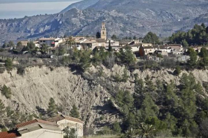 2017.01.26. COPE: La erosión del Barranc de Caraita preocupa de nuevo a Benillup