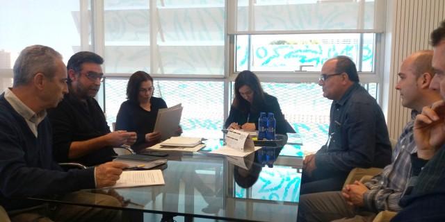 Reunió per impulsar una solució a l'enfonsament del Barranc de Caraita a Benillup