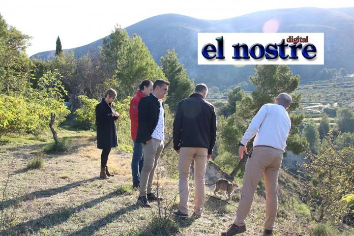 El problema del municipi de Benillup, al Senat amb Carles Mulet