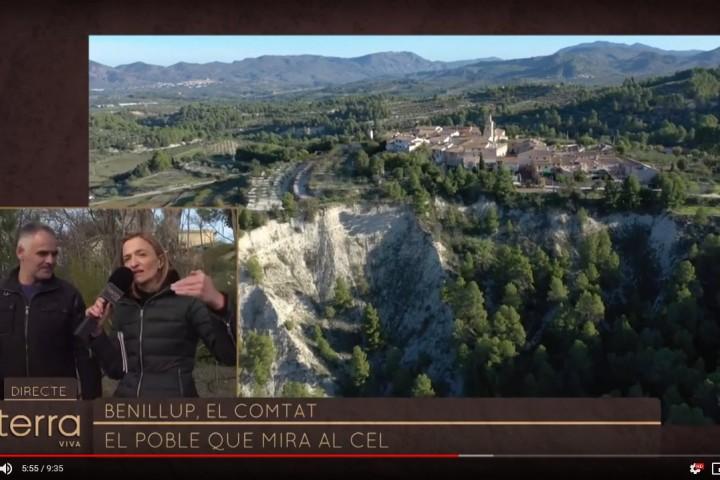 Terra Viva À Punt: Reportatge a Benillup i el Barranc de Caraita sobre els efectes de Glòria (VÍDEO)