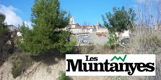 Les Muntanyes: Les pluges posen en perill el barranc de Caraita i el poble de Benillup
